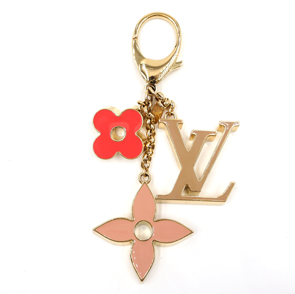 Louis Vuitton Multicolors Monogram Enamel Key Chain Charm