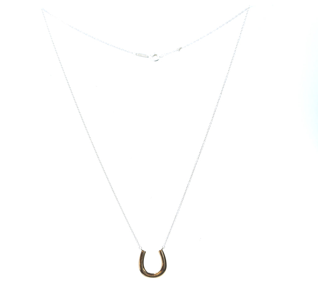 Tiffany & Co. Silver 925 Horseshoe Chain Necklace