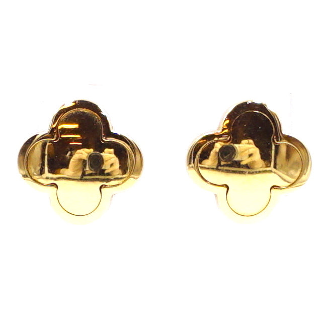 Van Cleef & Arpels 18K 750 All Pure Alhambra Earrings