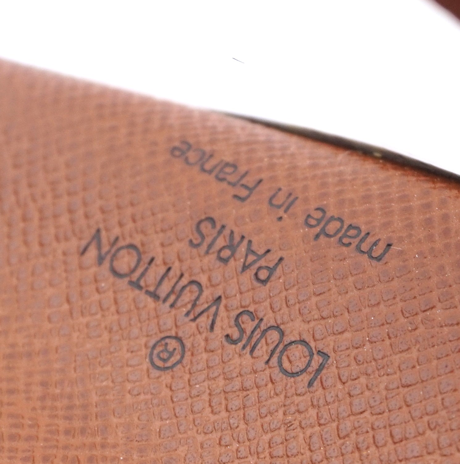 Louis Vuitton Brown Taiga Leather Bifold Card Case