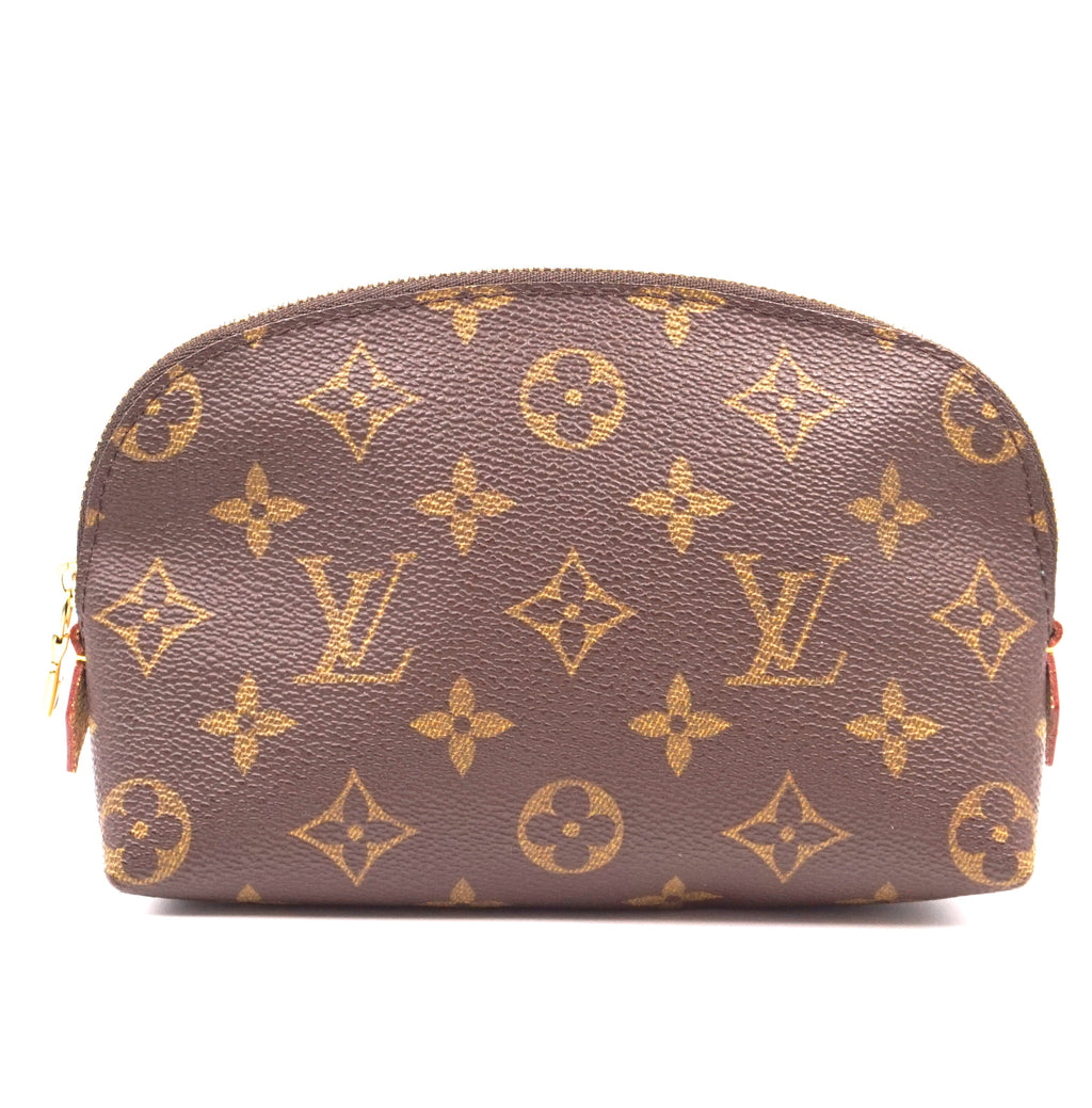 Louis Vuitton Vanity Cosmetic Pouch Monogram Canvas