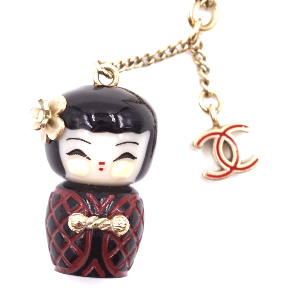 Chanel CC Shanghai Doll Chain Choker Necklace