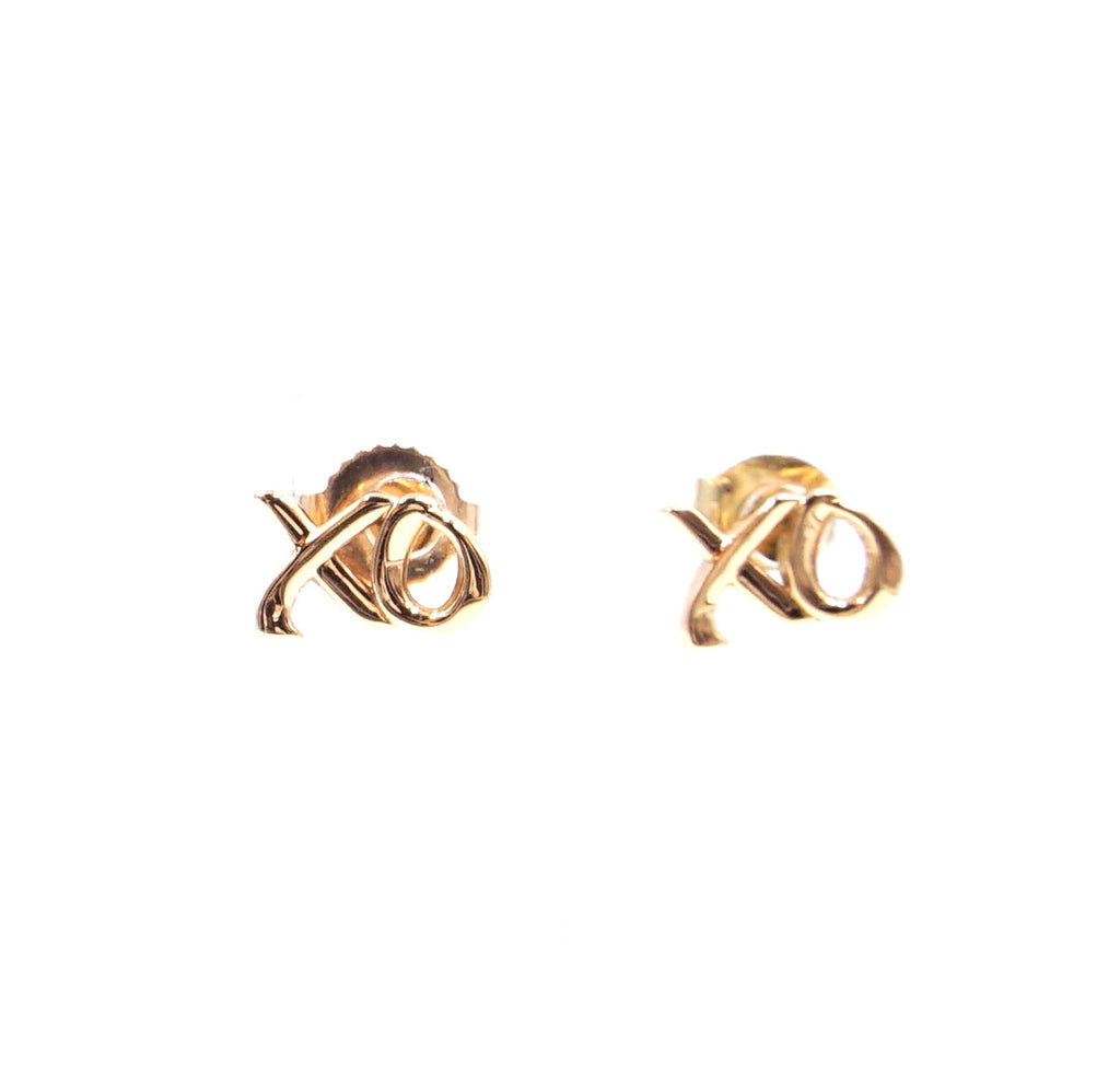 Tiffany & Co. 18k 750 Graffiti Paloma's Love & Kisses Earrings