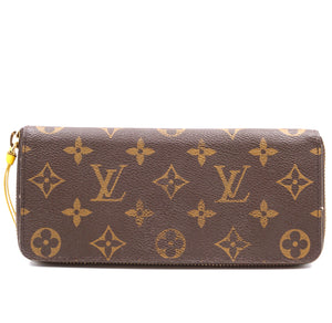 Louis Vuitton Monogram Clemence Zippy Long Wallet