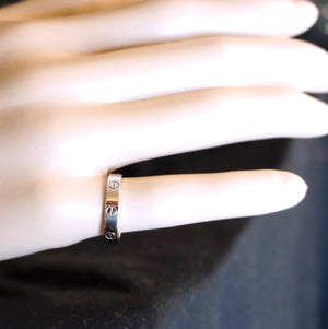 Cartier 18k 750 Love Band Ring Size 53