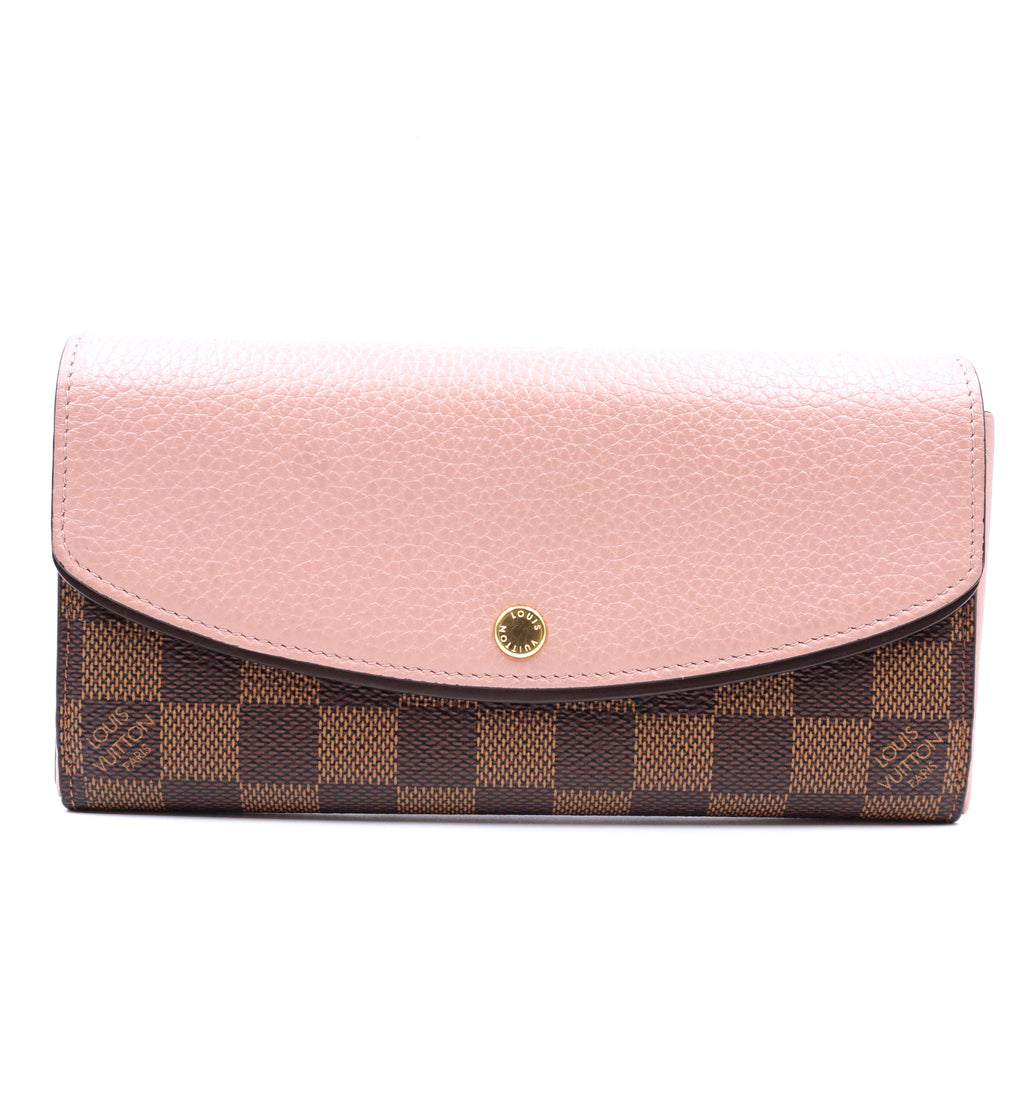 Louis Vuitton Damier Ebene Normandy Long Wallet