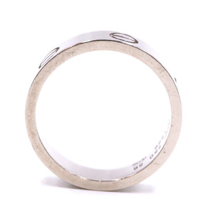 Cartier 18k 750 Love Ring Size 56