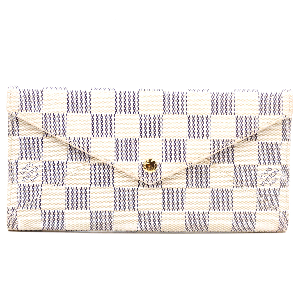 Louis Vuitton Damier Azur Origami Long Wallet