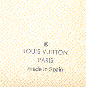 Louis Vuitton Damier Azur 6 Ring Agenda PM Wallet