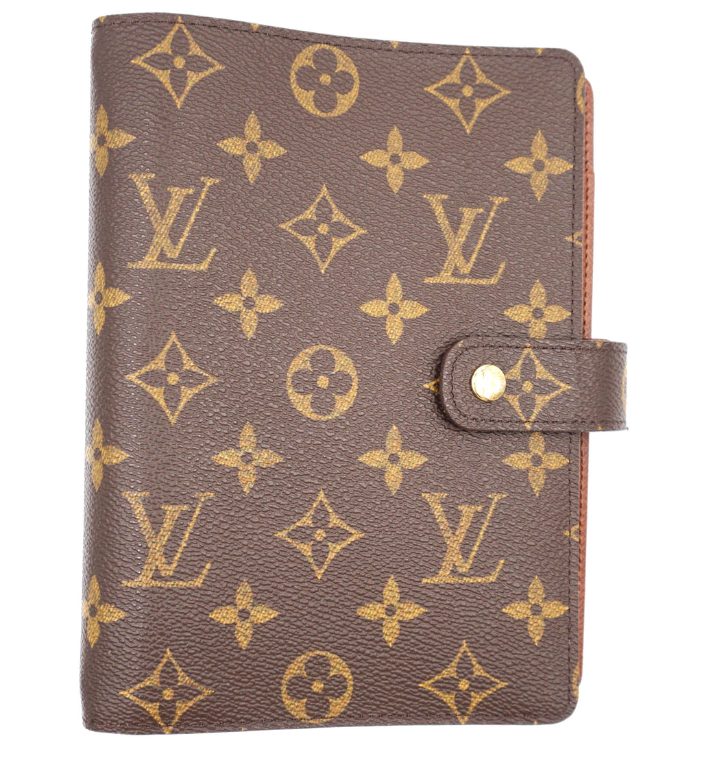 Louis Vuitton Ring Agenda MM Monogram Wallet