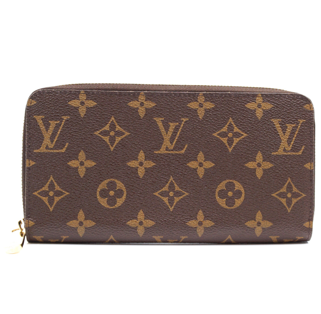Louis Vuitton Monogram Zip Around Long Wallet
