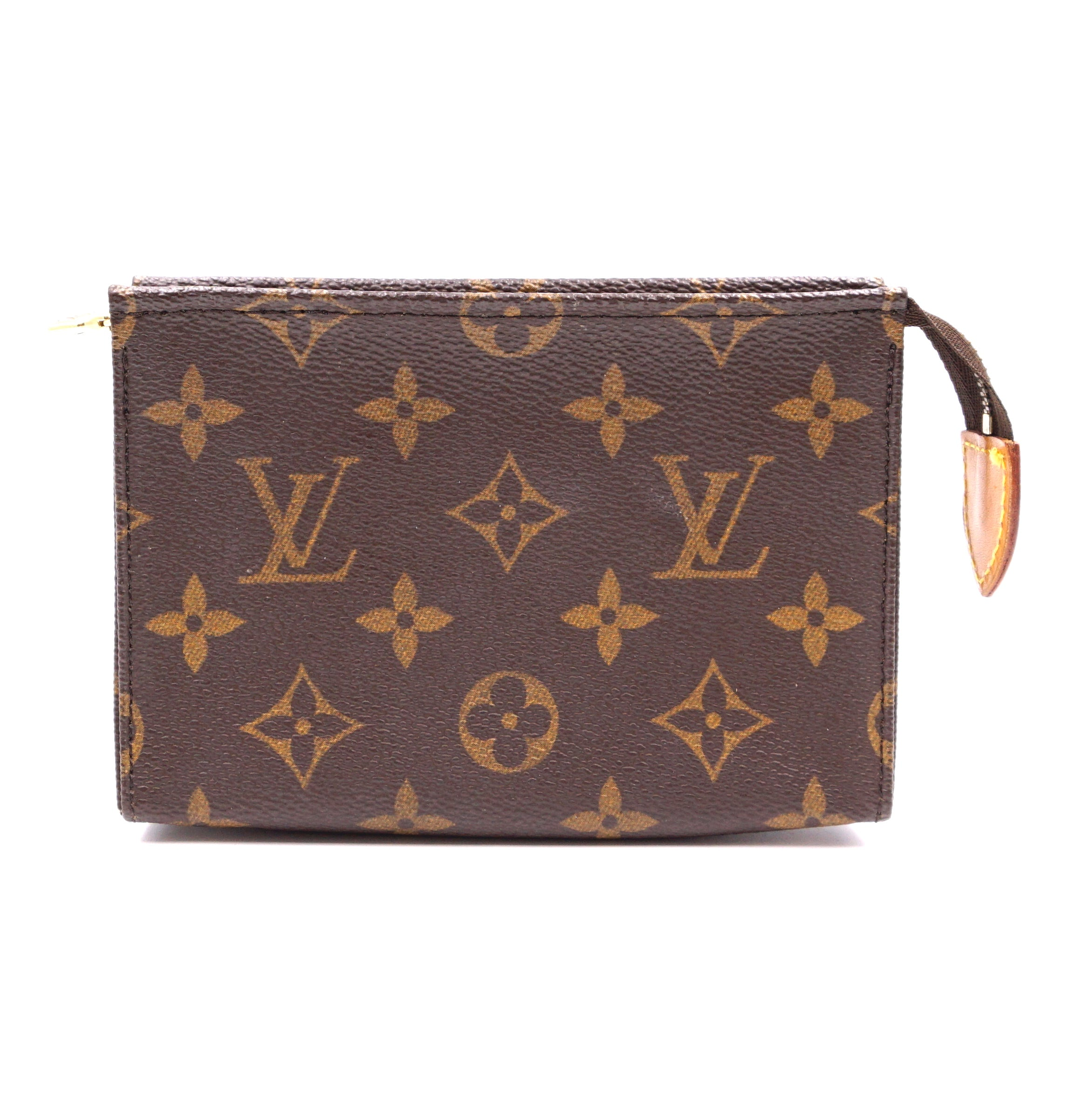 Louis Vuitton Flat Pochette 15 Monogram Canvas