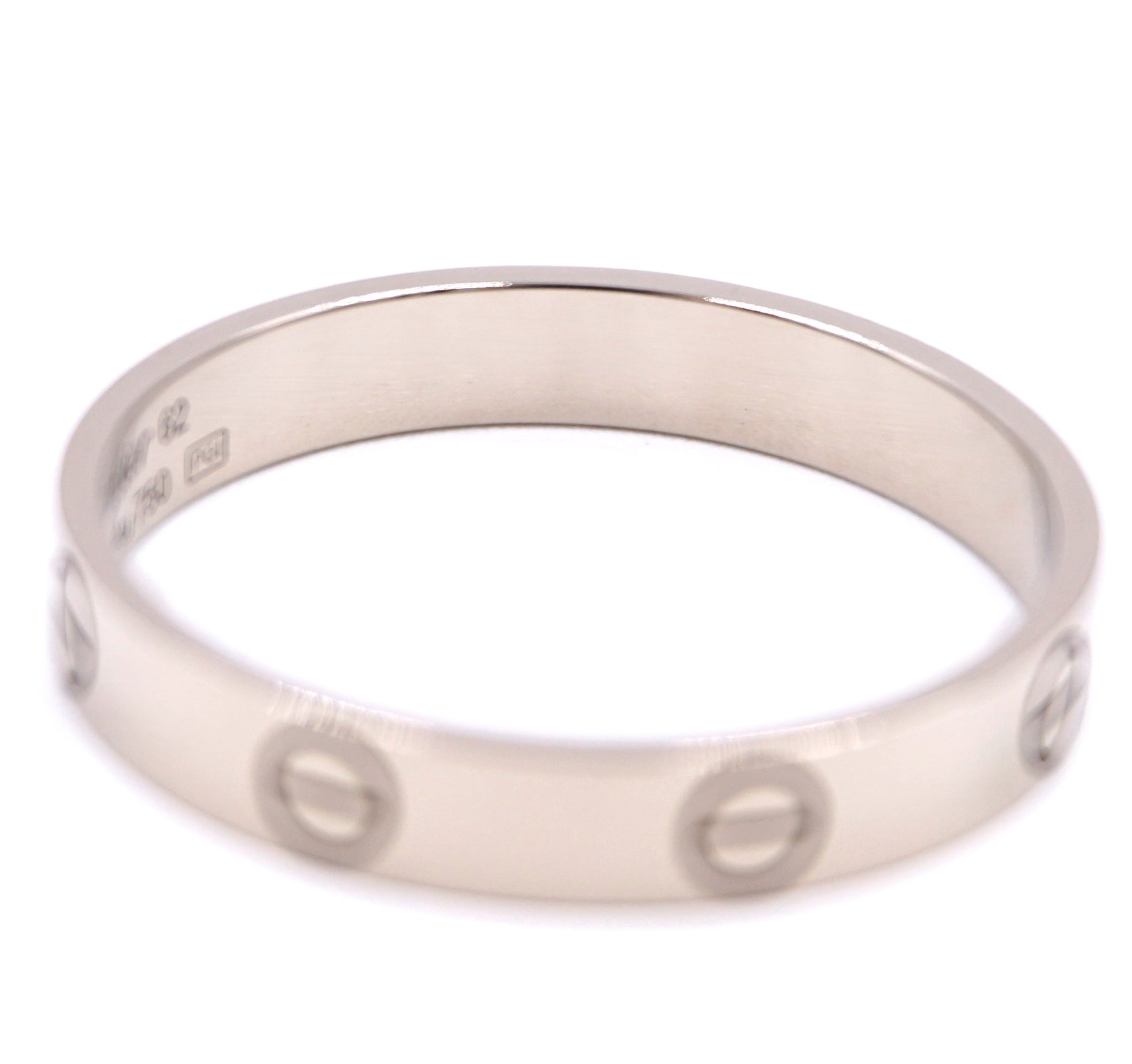 Cartier 18k 750 Love Band Ring Size 62