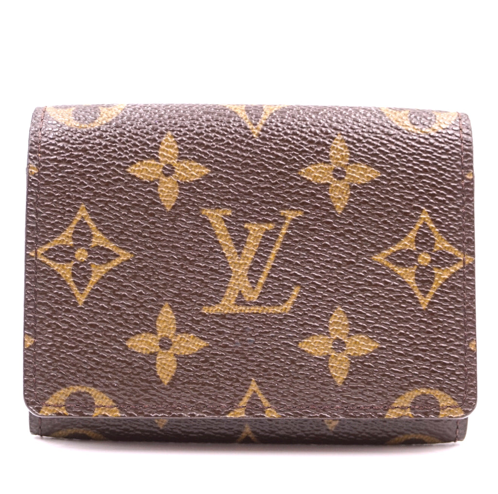 Louis Vuitton Monogram Pocket Organizer Flap Wallet