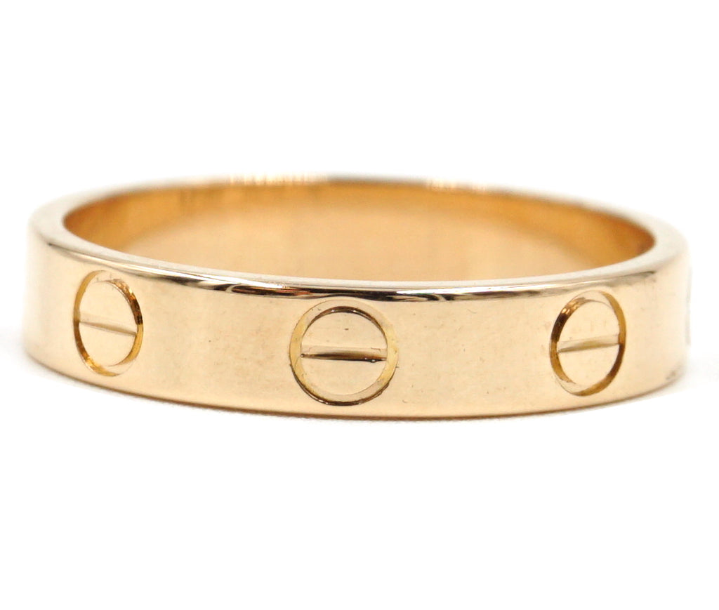 Cartier Rose Gold 18k Love Band Size 51