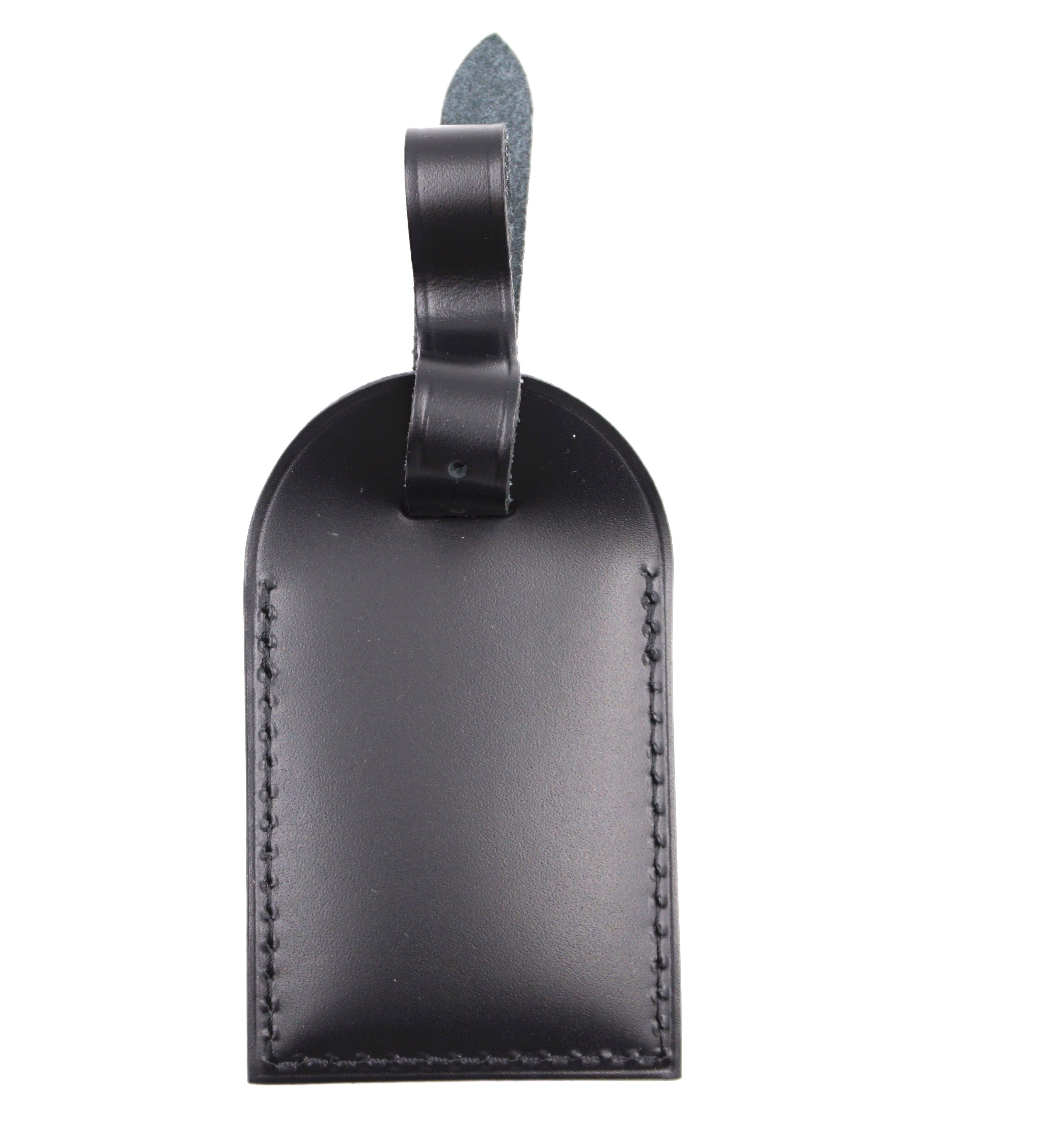 Louis Vuitton Black Keepall Alma Leather Luggage Tag