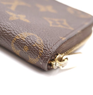 Louis Vuitton Monogram Square Zip Around Wallet