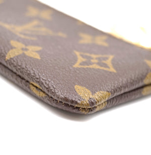 Louis Vuitton Monogram Key Cles Coin Wallet