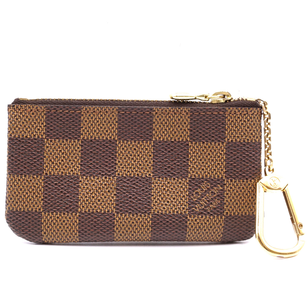 Louis Vuitton Damier Ebene Key Cles Wallet