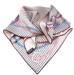 Hermès Multicolor H Square 65 Silk Scarf/Wrap