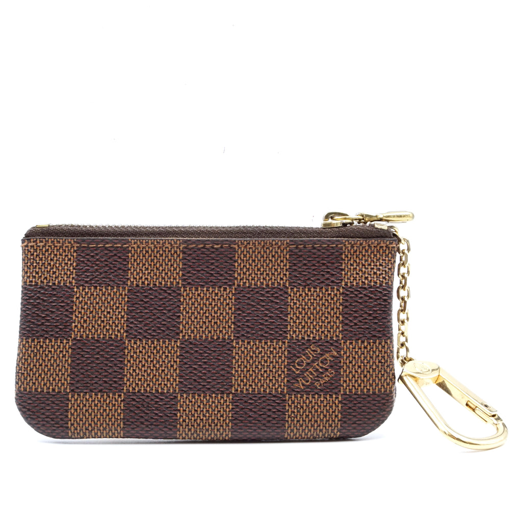Louis Vuitton Damier Ebene Zippy Key Cles Coin Wallet