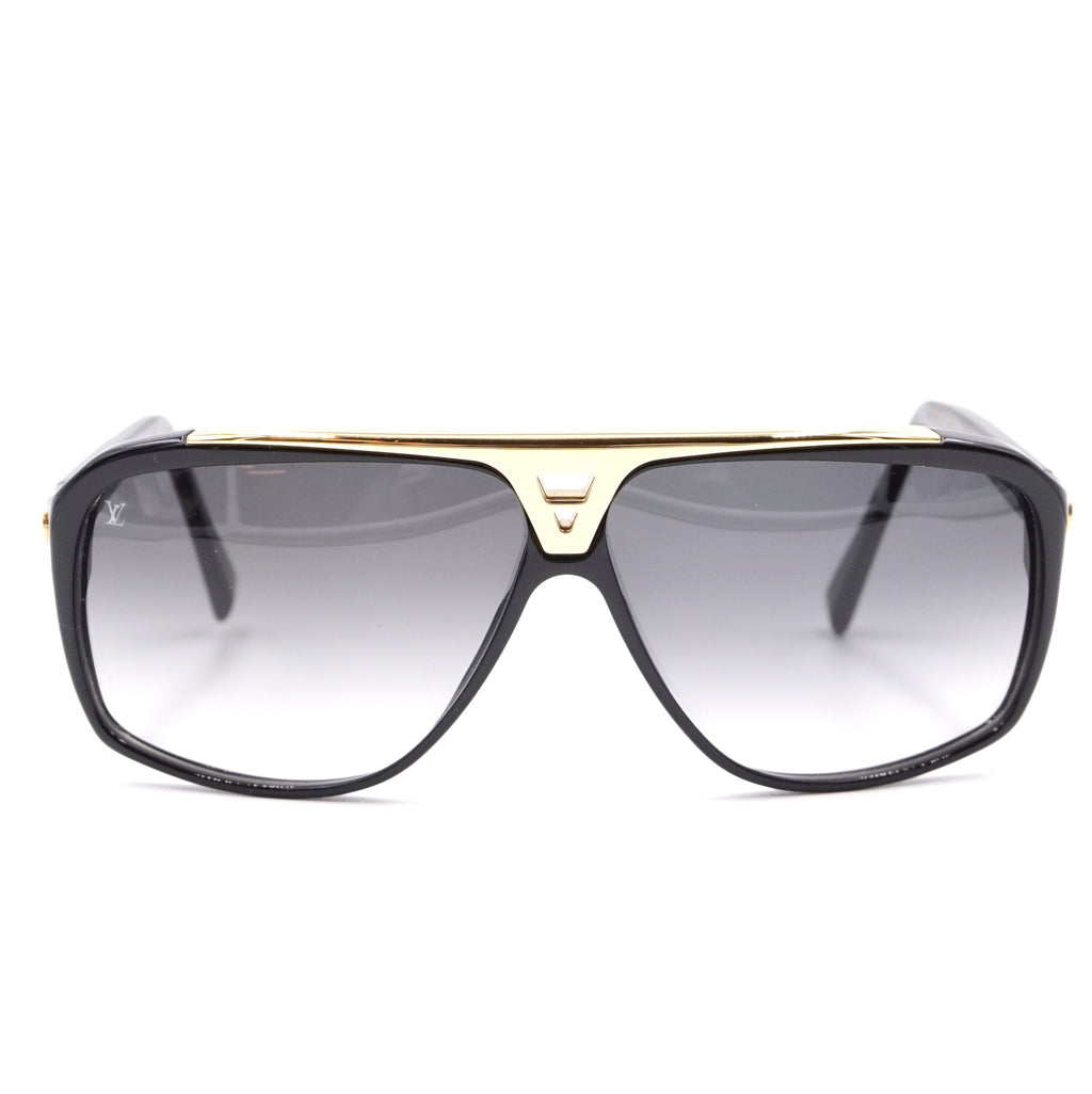 Louis Vuitton Monogram Evidence and Logo Lens Sunglasses