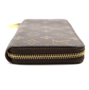 Louis Vuitton Monogram Zip Around Card Slots Long Wallet