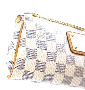 Louis Vuitton Eva Damier Azur Canvas