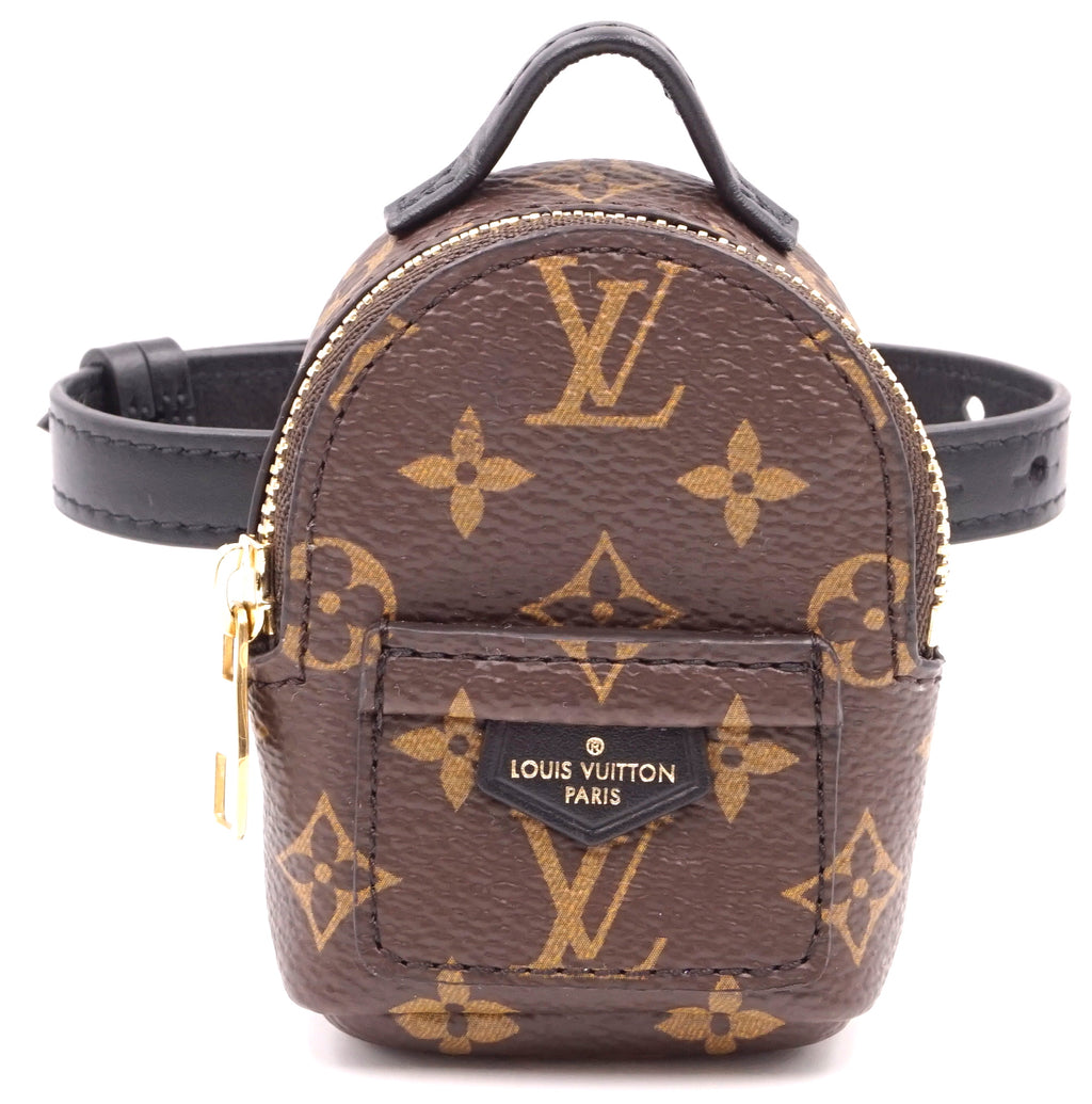 Louis Vuitton Palm Springs Arm Clutch Monogram Canvas