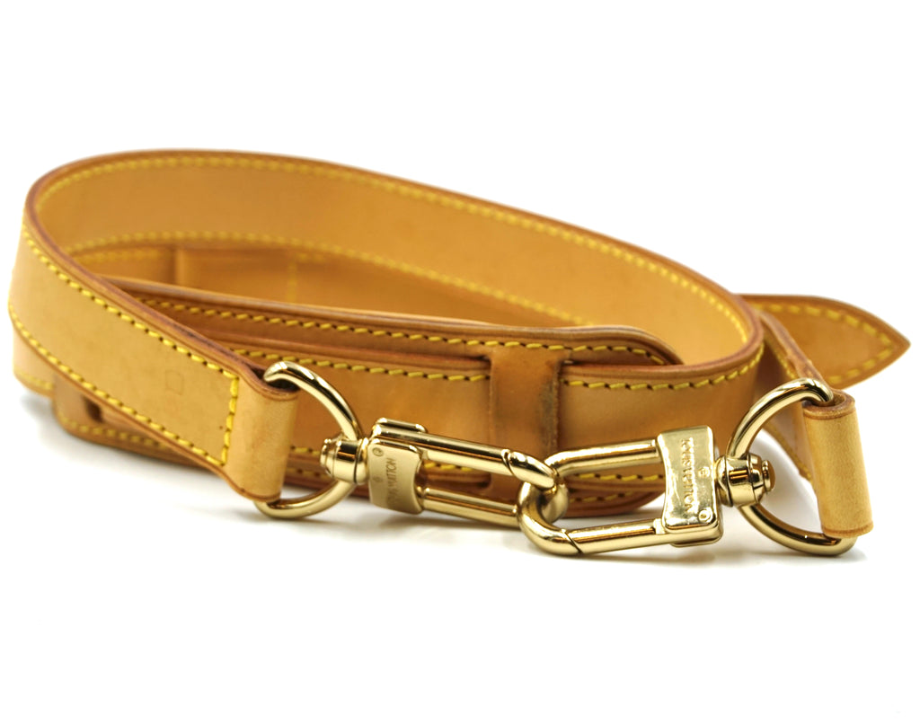 Louis Vuitton Adjustable Vachetta Leather Shoulder Strap