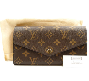Louis Vuitton Monogram Neo Sarah Long Wallet