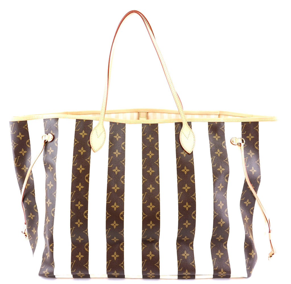 Louis Vuitton Rayures Neverfull XL Monogram Canvas