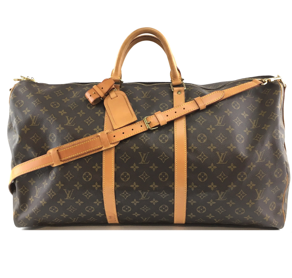 Louis Vuitton Keepall Bandouliere 60 Monogram Canvas
