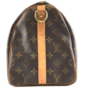 Louis Vuitton Speedy 30 Bandouliere Monogram Canvas