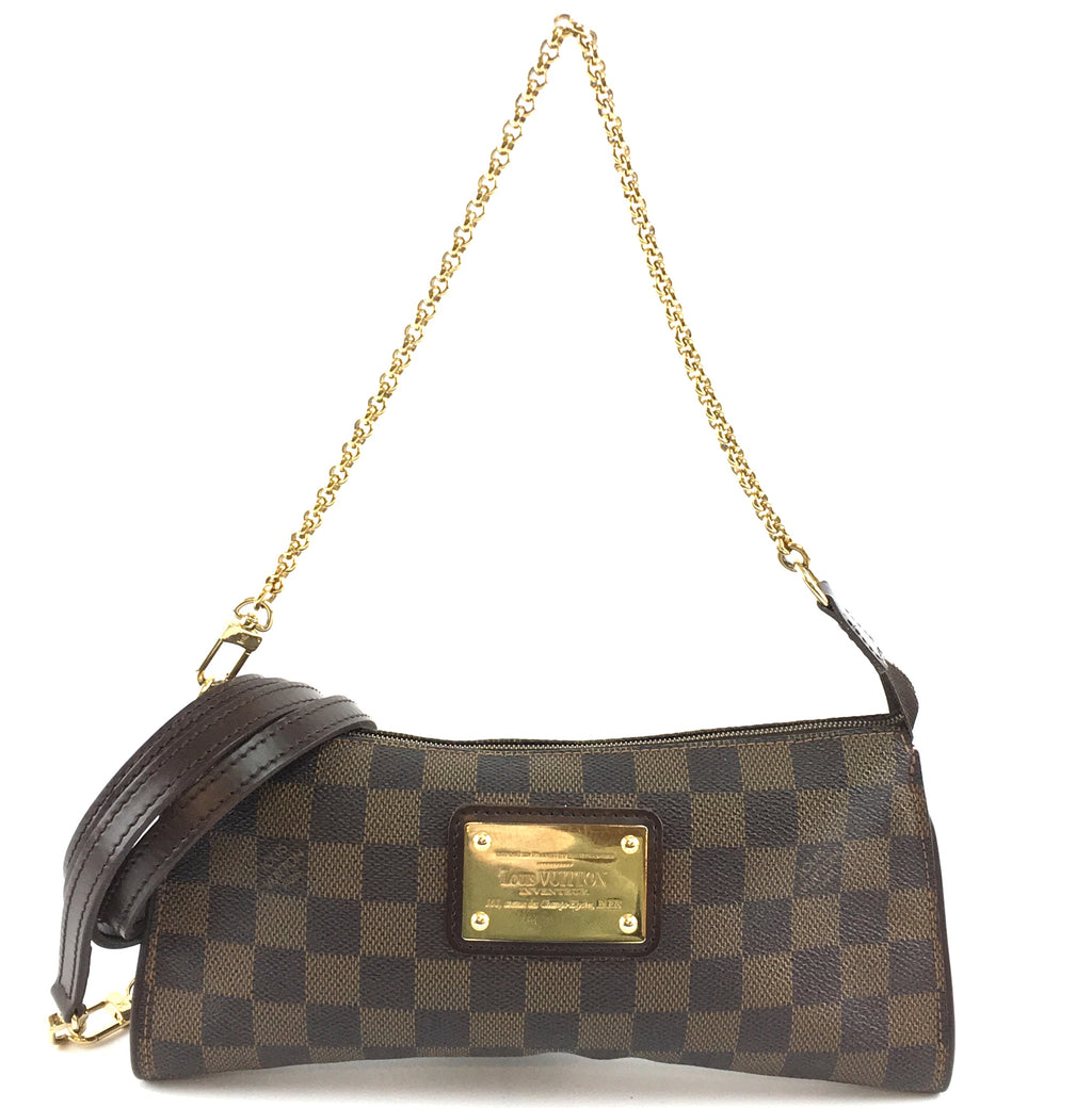 Louis Vuitton Eva Sophie Damier Ébène Canvas