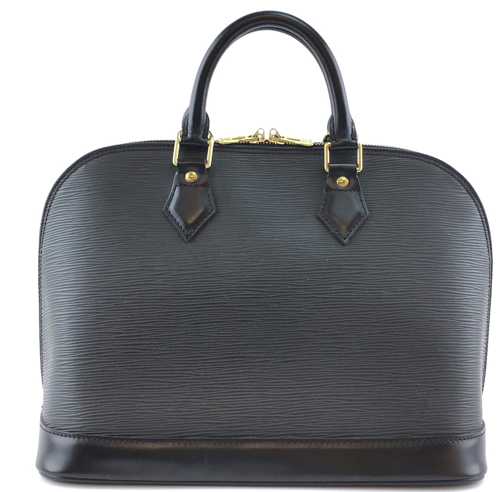 Louis Vuitton Alma PM Black Epi Leather