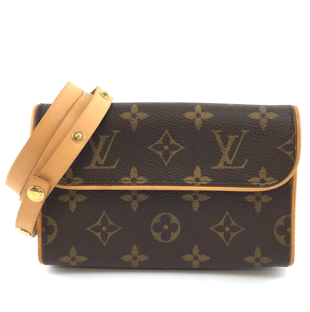 Louis Vuitton Pochette Florentine Monogram Canvas