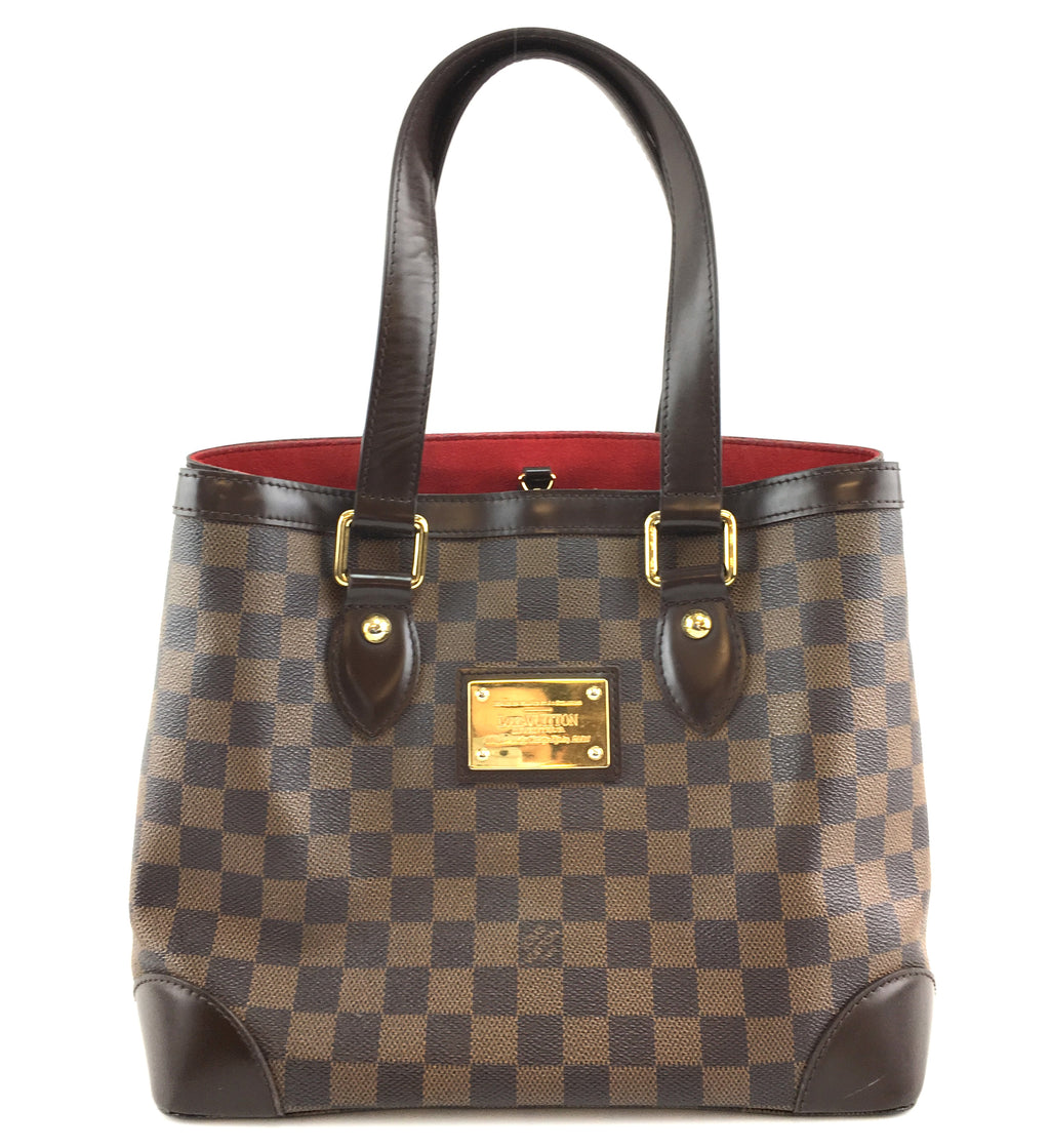 Louis Vuitton Hampstead PM Damier Ebene Canvas