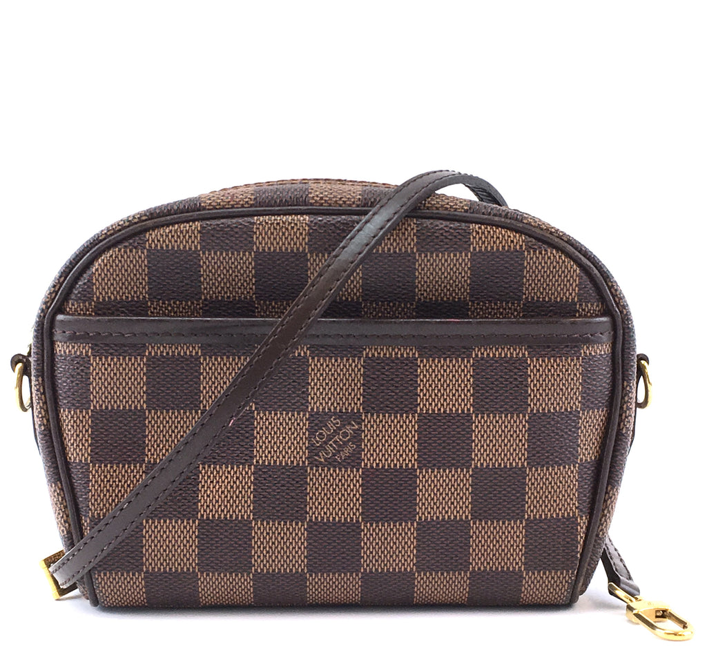 Louis Vuitton Pochette Ipanema Damier Ébène Canvas