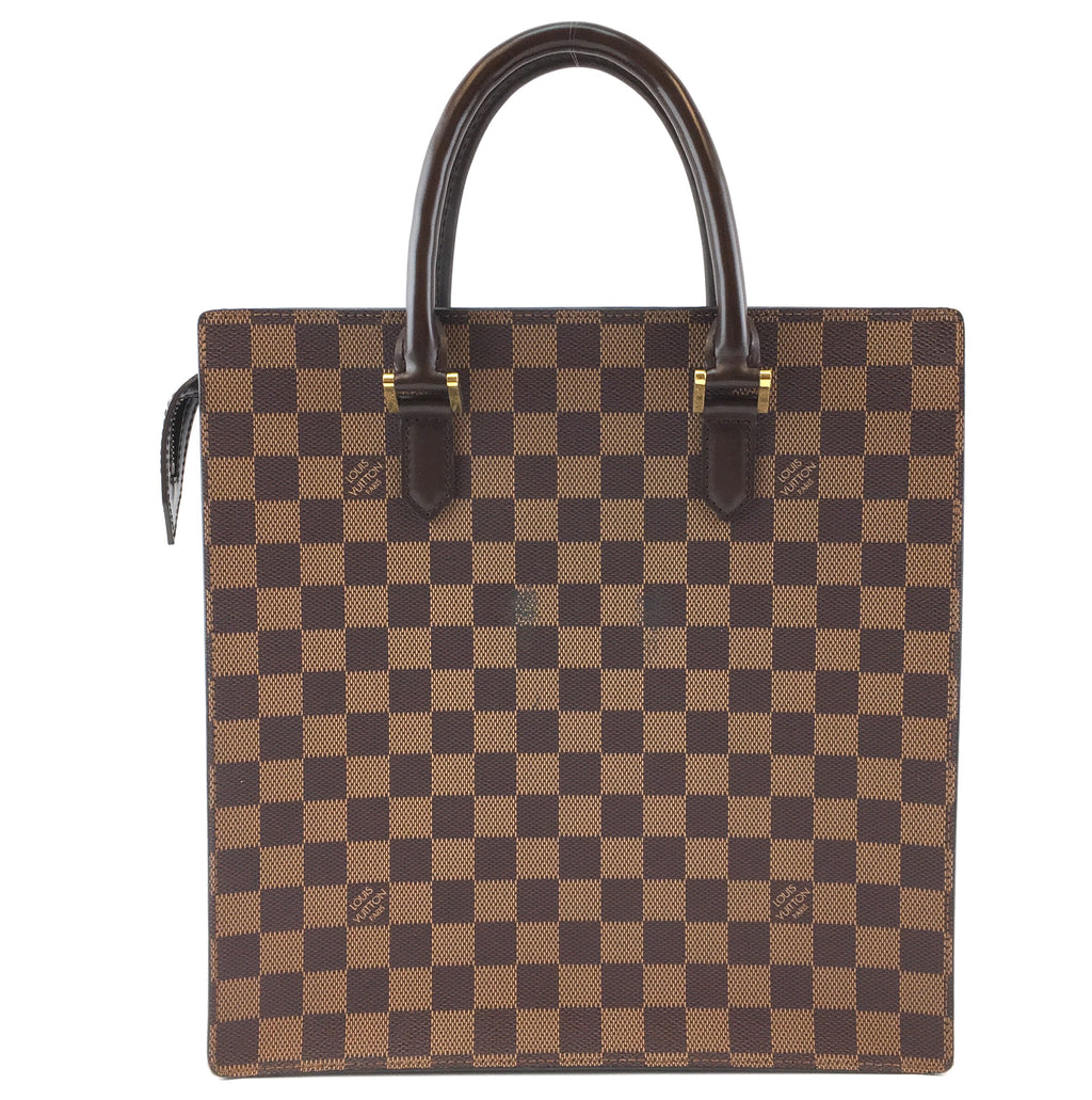 Louis Vuitton Sac Plat PM Damier Ébène Canvas