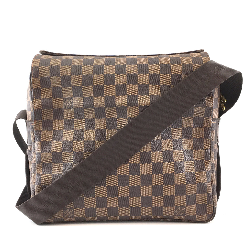 Louis Vuitton Naviglio Damier Ébène Canvas