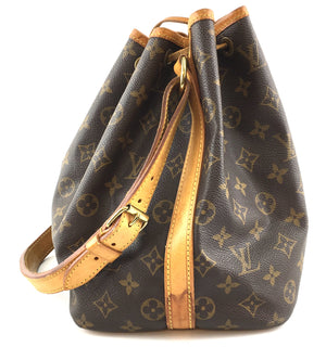 Louis Vuitton Petite Noe PM Monogram Canvas