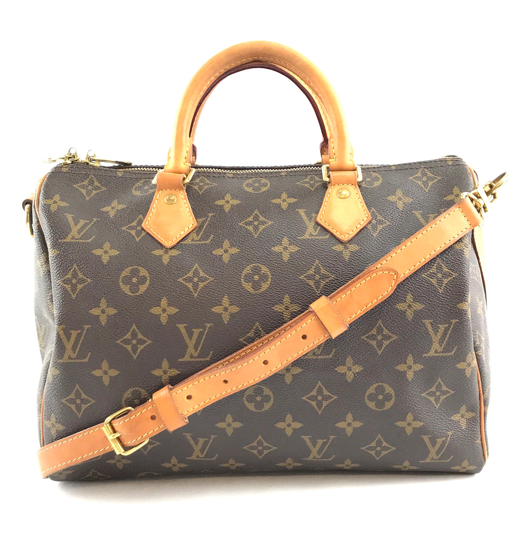 Louis Vuitton Speedy Neo 30 Bandouliere Monogram Canvas