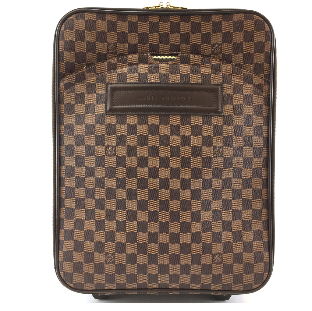 Louis Vuitton Pegase 45 Damier Ébène Canvas
