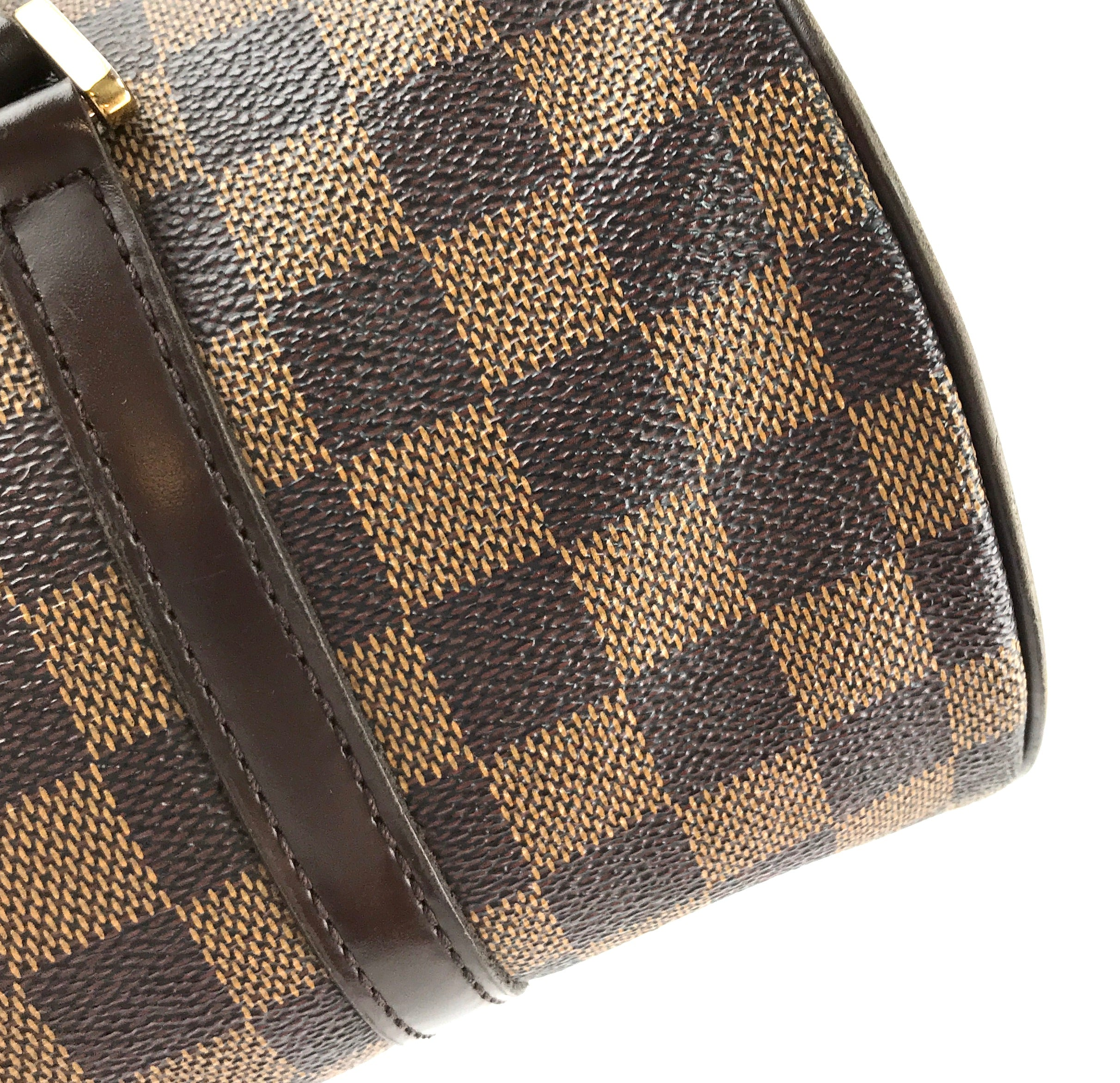 Louis Vuitton Papillon 30 Damier Ébène Canvas