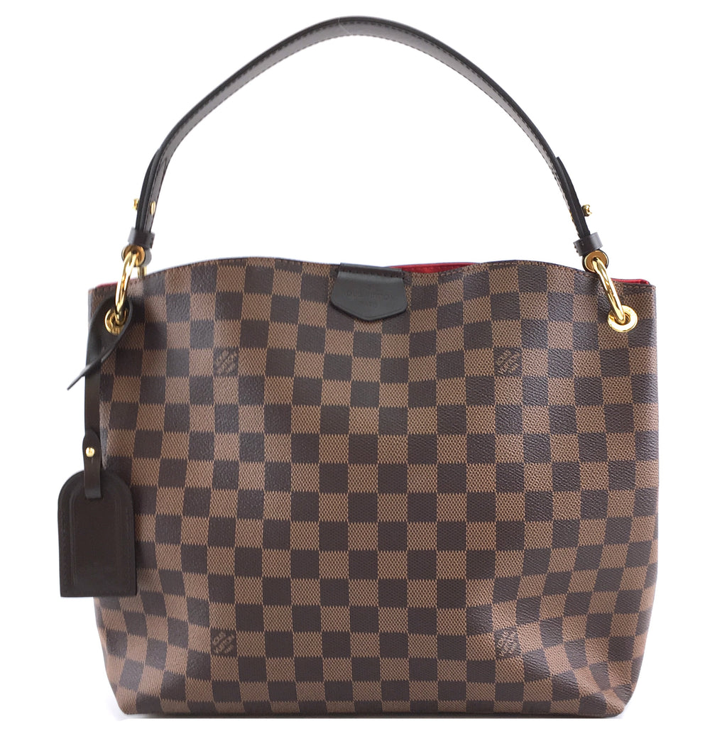 Louis Vuitton Graceful PM Damier Ébène Canvas