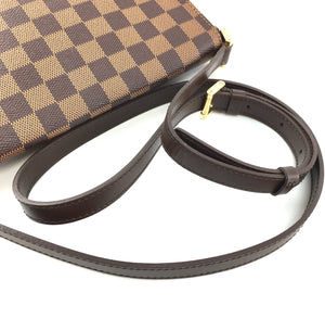 Louis Vuitton Musette Tango Damier Ébène Canvas