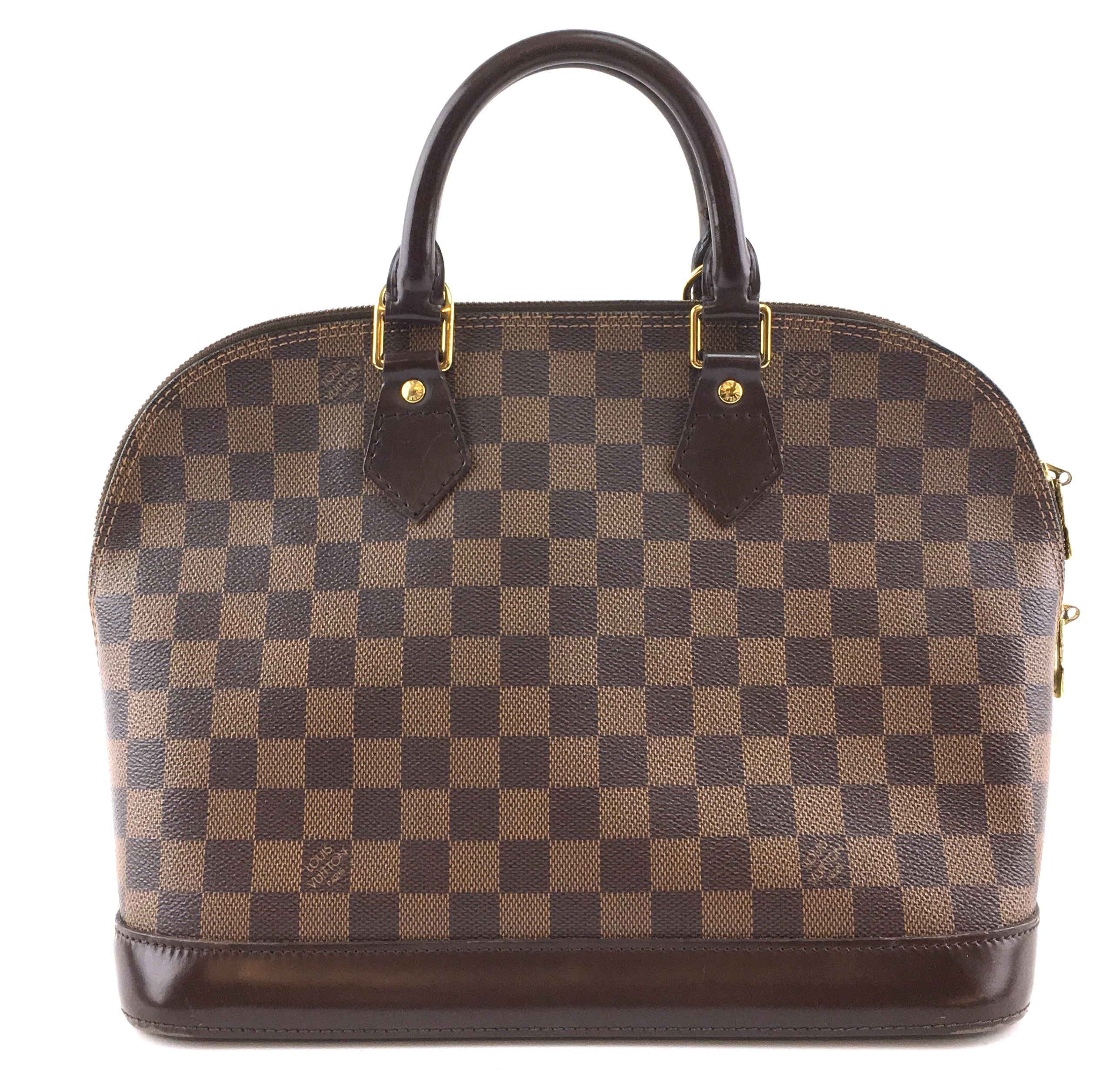 Louis Vuitton Alma PM Damier Ébène Canvas