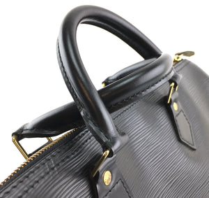 Louis Vuitton Speedy 35 Monogram Black Epi Leather