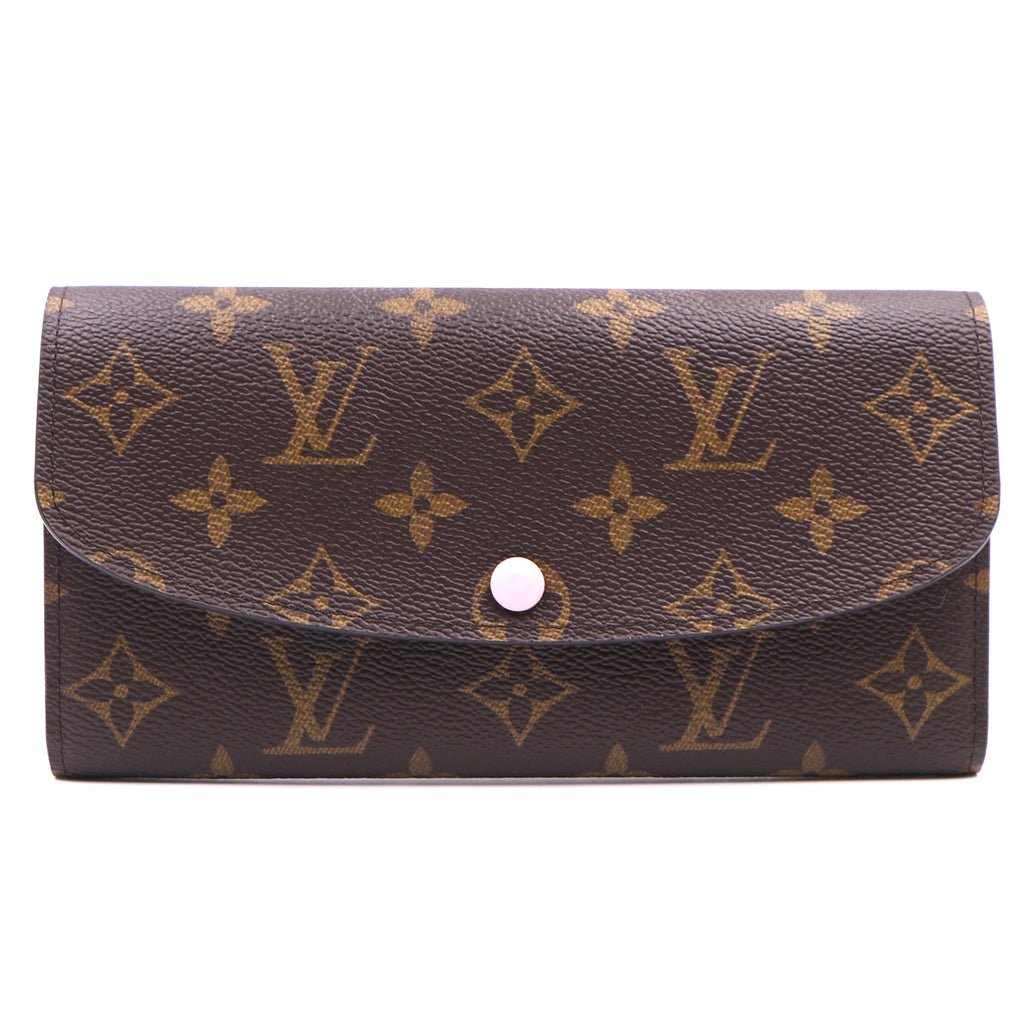 Louis Vuitton Monogram Rose Ballerine Emilie Long Wallet
